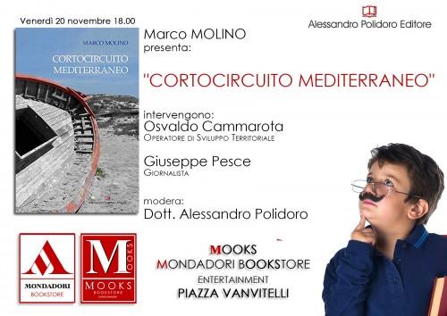 Locandina Evento Cortocircuito Mediterraneo di Marco Molino
