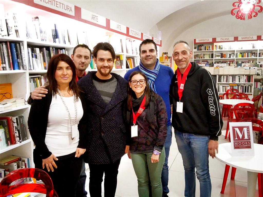 Valerio Scanu & MOOKS' Staff